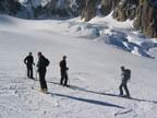 Vallée Blanche depuis l'Italie