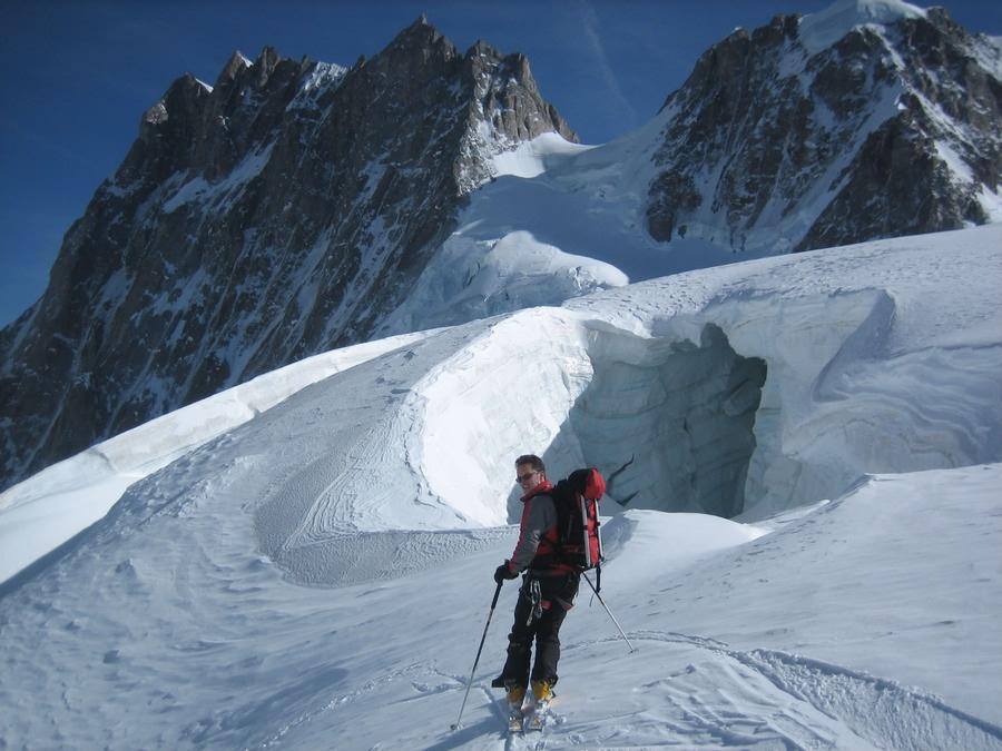 Glacier du Mont Mallet